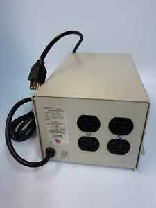 Oneac CP1105 Power Conditioner Input 120vac 5.0A