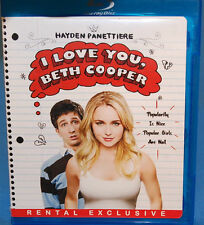 I Love You, Beth Cooper (Blu-ray Disc, 2009, Rental Exclusive Edition)