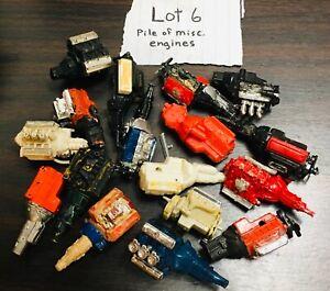 model car junkyard/ diorama/ spare parts…bag of misc. motors…..lot 6