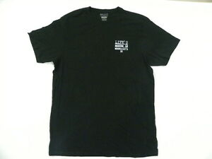 Billabong Men Life's Better In Boardshort's Black T Shirt Sz Large Tee