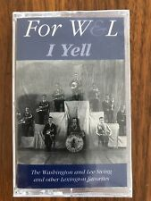 For W&L I Yell by The Washington and Lee Swing (Cassette, 1995) University NEW