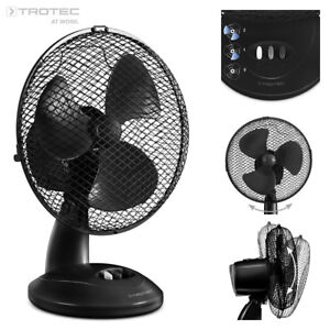 TROTEC Ventilatore da tavolo TVE 8   Portatile   Oscillante   Aria   Silenzioso