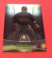 Miguel Sano Twins 2010 Bowman Platinum Prospects #PP28