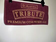 COLLECTABLE BEER MAT TOWEL ST. AUSTELL TRIBUTE PREMIUM CORNISH ALE