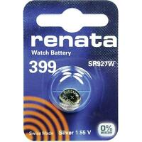 399 (SR927SW) Coin Battery Pack Renata 1.55V / for Watches Car Keys Torches