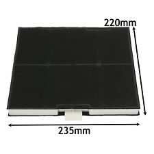Carbon Filter for BOSCH NEFF Oven Cooker Hood Extractor Vent Fan 220 x 235mm x 2