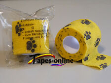 1 x selbsthaftende Bandagen, Haftbandage 5 cm , kohäsive Bandage, Fixierbinde