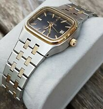 Omega seamaster Quartz ladies watch, stainless steel and 18kt solid gold!!