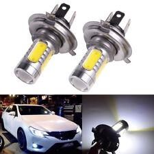 H4 9003 COB LED Hi/Low Beam Motorbike Car Headlight Fog Light Bulb 6000K White