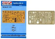 Marabu Models 1/72 SUPERMARINE SPITFIRE Mk.IX Photo Etch Detail Set