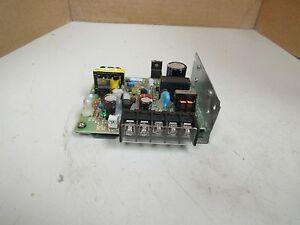 OMRON POWER SUPPLY S82J-2105 S82J2105 INPUT AC200-240V 0.3A 0.3 AMP A OUTPUT 5V