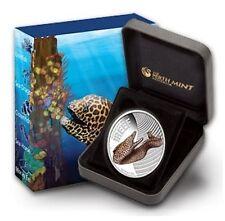 2010 Australian Sea Life - Moray Eel 1/2oz Silver Proof Coin