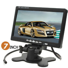 7 Inch 800x480 TFT LCD Screen AV HDMI VGA Car Rear View Monitor US