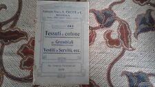 Tessuti di cotone per Grembiali (Vestiti da Servitu, ecc.) Catalogo 1910