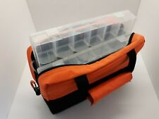 Fishing Tote With 2 Tackle Trays/ Boxes With Tags Ozark Trail Nice Picker Find!