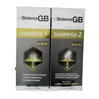 Sistema GB  Hair Loss SET OF 2 Shampoo1, Shampoo2, Alopecia HAIR LOSS TREATMENT