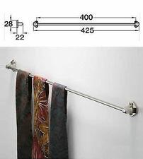 Bedroom Wardrobe Tie Rail  (Nickel Plated) - 425mm 807.20.743 (Hafele)