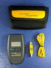 Fluke Microscanner Pro, Very Good, Cable ID, Soft Case