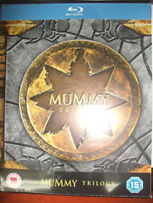 The Mummy Trilogy Limited Edition SteelBook Region Free UK Import New Sealed OOP