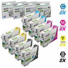 LD © Epson Remanufactured T126 Set of 8 HY Ink 2x T1261 T1262 T1263 T1264