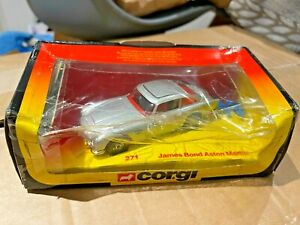 Corgi 271 James Bond Aston Martin DB5 - Mint in Red / Yellow Box from 1981