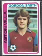 TOPPS-FOOTBALL (PALE BLUE BACK 1979)-#168- ASTON VILLA - GORDON SMITH