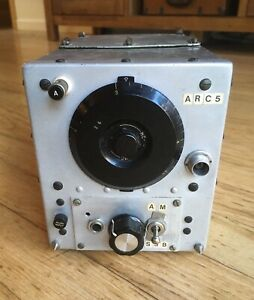 WWII US Army Aircraft Signal Corps Radio Receiver BC-454-B Western Electric