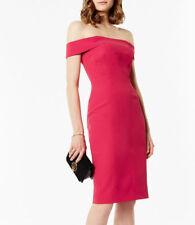 Karen Millen Boned Bardot Dress size 14