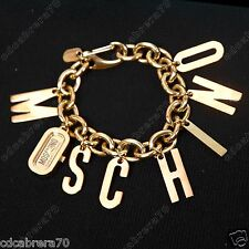MOSCHINO CHEAP AND CHIC 2008 Women's I LOVE CHARMS bracelet watch