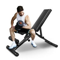 FlyBird Adjustable Weight Bench Lifting Incline Foldable Full Body Workout Gym