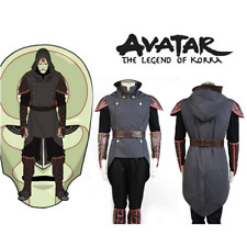 NEW ! Avatar The Legend of Korra Amon Outfit Cosplay Costume Custom Made