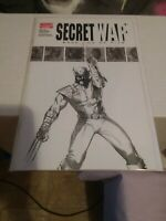 Secret war 2 1st appearance of daisy Johnson quake high grade sketch Dell Otto