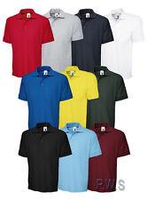 Uneek Premium Polo Shirt Work Wear Tee 250 gsm Mens Top (UC102)
