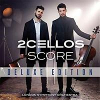 2Cellos Score London Symphony Orch. Deluxe Ed. CD & DVD All Regions NTSC NEW