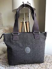 Kipling ash brown medium handbag tote bag shopper
