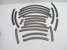 MES-47351 Arnold Spur N 20 St. verschiedene Gleise gebogene braun guter Zustand,