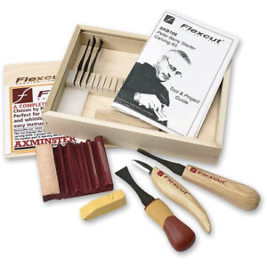flexcut carving tools set skb108 by peter berry sharpening, wood carving