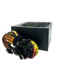 New 680 Watt ATX Power Supply PSU 20//24 Pin SATA Molex PCIE Single 12CM Fan Gold