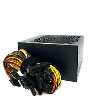 Quiet 500W 500 Watt ATX Power Supply for Intel AMD SATA Fan 20 24 Pin 120MM Fan
