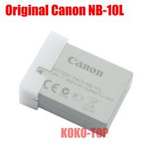 Genuine Canon NB-10L Battery For PowerShot G1X G3X G15 G16 SX40 SX50 SX60 CB-2LC