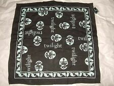 Nwt Twilight Movie Cullen Crest Filigree Lion Hand Head Scarf Bandana Rag 20X20""