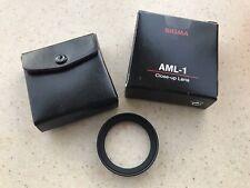 Sigma AML-1 close-up 2-element achromatic 46mm lens boxed rare