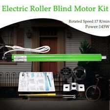 220V 145W Pro 35mm Electric Roller Blind / Shade Tubular Motor Kit Set DIY 17RPM