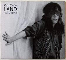 PATTI SMITH / LAND 1975 - 2002 / 2 X CD SET / SOME DEMOS & LIVE/ DIGI-PAK & BOOK