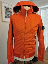 💯 Genuine Stone Island Membrana 3l Tc Orange Jacket Worn Twice £625 Sold Out S