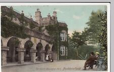 Huddersfield; The Castle, Beaumont Park PPC, Manchester 1906 PMK