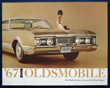 Prospekt brochure 1967 Oldsmobile Rocket Action Cars (USA) PRESTIGE