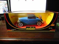 Solido - Ford Cabriolet (Blue) (1:18)(ref.8009)