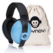 Gehörschutz Baby 0-2 Jahre | Baby Ohrenschützer Lärm | Lärmschutz Baby blau