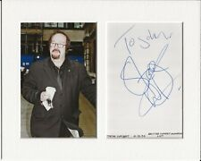 More details for steve wright radio genuine authentic autograph signature and photo aftal coa